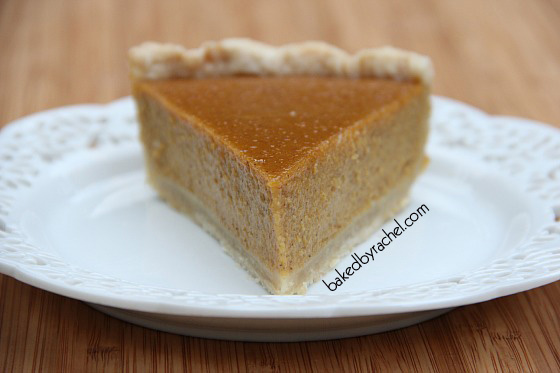 Jamaican-Spiced Pumpkin Pie Recipe from bakedbyrachel.com