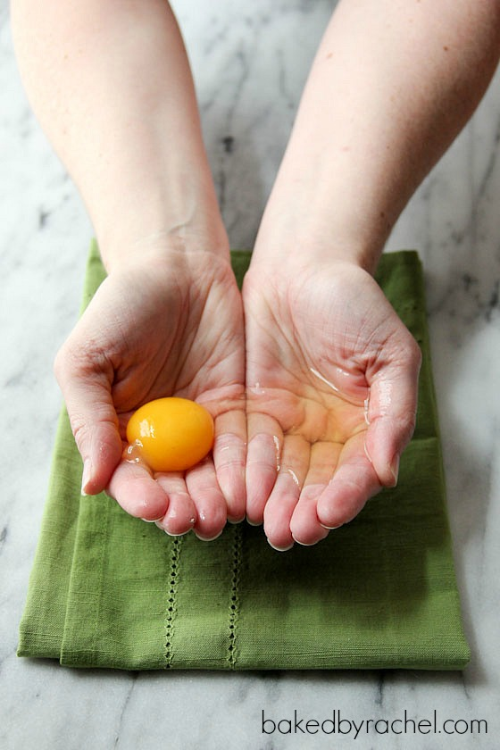 How To: Use, Store and Freeze Leftover Egg Whites (and yolks!) from bakedbyrachel.com