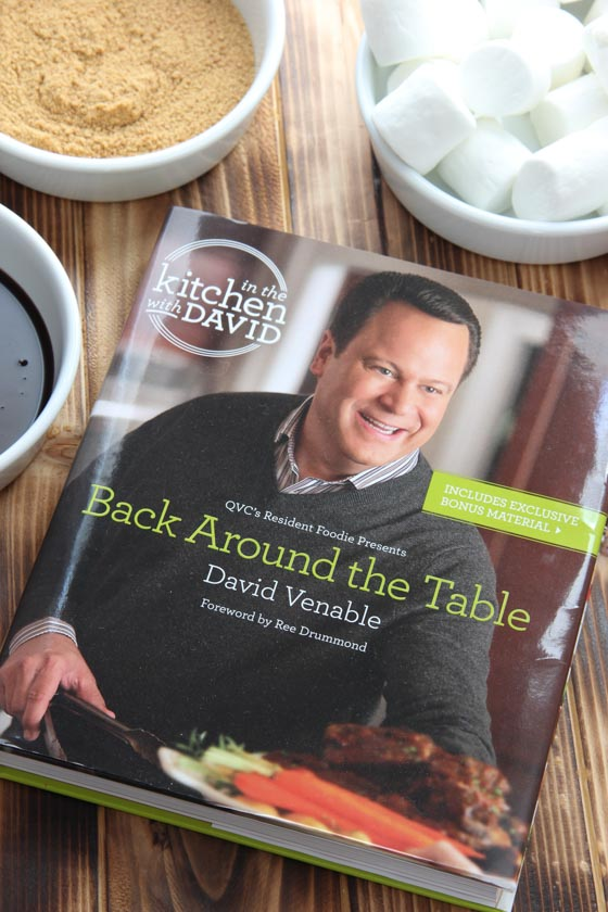 """Back Around the Table: An """"In the Kitchen with David"""" cookbook"""