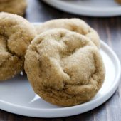 Soft and fluffy pumpkin molasses cookie recipe from @bakedbyrachel